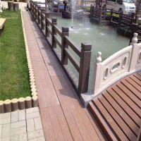 泰安水泥仿木景观栏杆护栏施工做法厂家