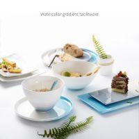西式简约北欧创意陶瓷餐具西餐意面盘寿司盘小吃甜点蛋糕盘沙拉碗