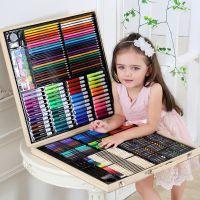 儿童画画画笔工具小学生水彩笔套装美术绘画文具学习用品生日礼物