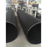 供应苏州钢带波纹管 PE塑钢缠绕管