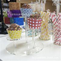 亚克力展示架 有机玻璃展示架蛋糕展示架 环保型食品高档保鲜柜