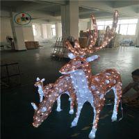 厂家直销圣诞灯DY-083 节日装饰灯 滴胶动物造型灯 梅花鹿一家亲(三件套)