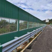 四川德阳声屏障隔音墙生产厂家成都桥梁声屏障铝板微孔隔音屏