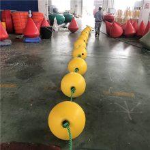 水库警示拦船浮球 38cm中心穿孔浮球价格