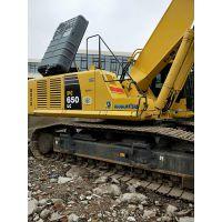 二手小松PC650大挖机钩机 60吨大挖机低价出售