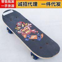 新款厂家直销 儿童四轮滑板双翘板 儿童木质滑板 儿童滑板 批发