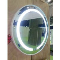 带灯防雾镜 触摸LED防雾镜 无框卫生间镜 多功能浴室镜