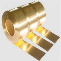 黄铜带厂家 H65软态拉伸铜带 0.03mm超薄黄铜箔批发