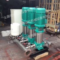 威乐变频供水系统COR-3MVI3203立式变频泵组两用一备上海倍拉供应