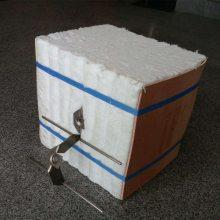 隧道窑吊顶高温棉块 硅酸铝纤维模块 高温陶瓷纤维模块 旧窑改造棉块