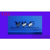 抽屉式SIM卡座 CARD-6P双排贴 B TYPE CONN-(H=1.5)钢壳-铜壳 编带