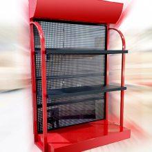厂价直销重庆发电机厂家展示架货架展柜/特价低价促销货架电机架