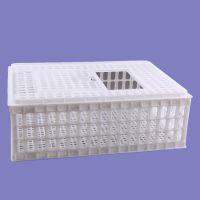 供应750*550*270肉鸡运输笼 青年鸡笼子 塑料鸭笼子 淘汰鸡周转笼