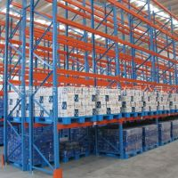厂家直销托盘重型仓储仓库金属拆装库房展示货架加厚承载1-2吨