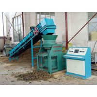 大庆秸秆煤炭压块机 秸秆燃料压块成型机生产工厂