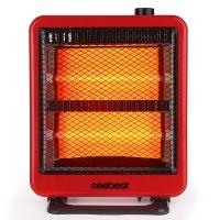 视贝取暖器 家用电暖器 电暖气摇头小太阳 石英管电暖扇 采购批发