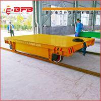 用于新厂房的管材运输电动导轨平车20吨转运轨道车物流系统设计