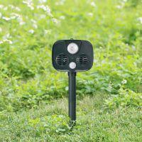新型太阳能户外防盗报警器露营安防动物入侵警报超声波动物驱赶器