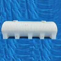 洒水车专用10吨卧式水箱10立方车载pe储罐10T抗氧化卧式运输水塔