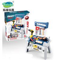 *厂家直销儿童电动工具套装多功能电动工具过家家玩具