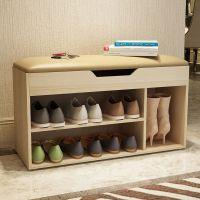 门厅入户鞋架换鞋凳式多功能坐着储物鞋柜椅子现代简约省空间