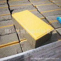 厂家直销荷兰砖舒布洛克砖人行道专用防滑彩色水泥砖生态透水砖