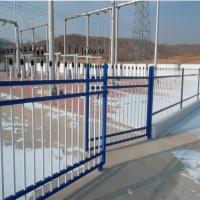 2米高锌钢铁艺围栏/小区用锌钢围栏-安平县高禄护栏网厂家