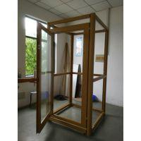 江苏项目--家用别墅电梯铝合金框架井道-观光电梯井道框架