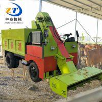 新疆牛羊场清粪车 养殖设备铲粪车 羊场自动刮粪车