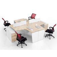 供应现代办公家具 职员办公桌 选择南京康之冠办公家具有限公司