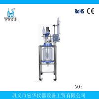 实验室100升双层玻璃反应釜,化工设备,反应釜配件
