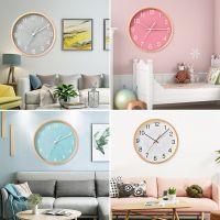 左娇女wall木质clock挂钟创意静音钟表客厅家用现代简约个性时钟