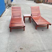 工厂供应真正的纯实木休闲躺椅 批发价