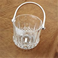 厂家直销加厚亚克力透明冰粒桶KTV酒吧塑料冰桶单层啤酒香槟桶