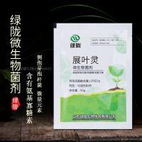 绿陇生物 展叶灵 壳寡糖益生菌微量元素抑制有害菌活化土壤 微生物菌剂