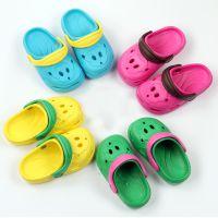 一件代发儿童凉拖鞋 宝宝无味海边旅游沙滩鞋猴子休闲洞洞鞋小童