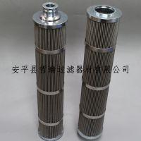 金属折叠滤芯不锈钢三层丝网折波滤芯污水处理可替代贺德克滤芯