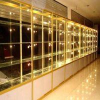 供青海钛合金展柜和西宁珠宝展柜