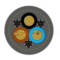 GCKM/RR-PP 3X16+3X(3X1.5)P 聚氨酯PUR双护套卷筒电缆