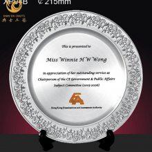 翰林杯奖牌,锡盘纪念品定制厂家,高校活动纪念牌定制
