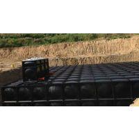 抗浮式地埋箱泵一化水箱模块安装