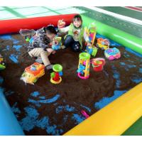 儿童娱乐充气沙滩池海洋球池钓鱼池定制