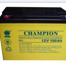 冠军蓄电池NP100-12(12V100AH) UPS蓄电池 太阳能电瓶 全新现货