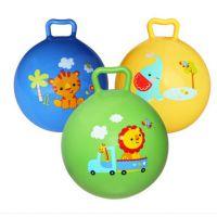 新款45CM大号充气手柄球儿童充气球玩具厂家直销淘宝热卖