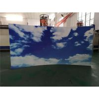 背景墙彩绘装修效果图 UV喷绘铝板价格