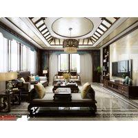 南京别墅豪宅装修设计哪家好|豪门兰庭680平方中式风格效果图|南京别墅大宅设计好的装修公司