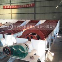 湖南常宁江沙细沙脱泥分级设备,2FG2400双螺旋分级机工作原理