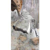 石场开爆硬石分裂机孔距间隔劈裂机