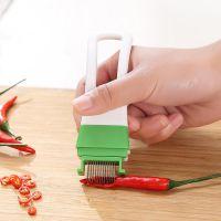厨房不锈钢多功能切菜器 切葱器切葱丝刀葱花器葱丝器厨用小工具