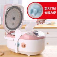 电饭煲饭勺架创意硅胶收纳小工具厨房用品家用吸盘式饭勺座收纳架